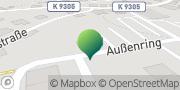 Karte GLS PaketShop Mülsen, Deutschland
