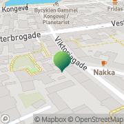 Kort Tyrkiske Socialcenter, Det København, Danmark