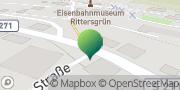 Karte GLS PaketShop Rittersgrün, Deutschland