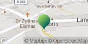 Karte GLS PaketShop Zwönitz, Deutschland