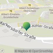 Karte Rainer Wolf Chemnitz, Deutschland