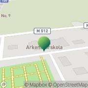 Karta Håslövs Kyrka Höllviken, Sverige