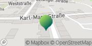 Karte GLS PaketShop Hartha, Deutschland