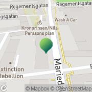 Karta Blombergs Teknik & Miljö Malmö, Sverige