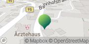 Karte GLS PaketShop Bärenstein, Deutschland