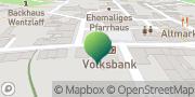 Karte GLS PaketShop Mügeln, Deutschland