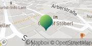Karte GLS PaketShop Lam, Deutschland