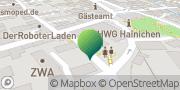 Karte GLS PaketShop Hainichen, Deutschland