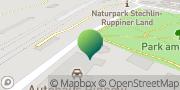 Karte GLS PaketShop Fürstenberg/Havel, Deutschland