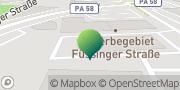 Karte GLS PaketShop Pocking, Deutschland