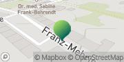 Karte GLS PaketShop Guben, Deutschland