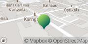 Karte GLS PaketShop Freiberg, Deutschland