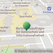 Karte Landesamt für Bürger- und Ordnungsangelegenheiten - Fahrerlaubnisse, Personen- und Güterbeförderung Berlin, Deutschland