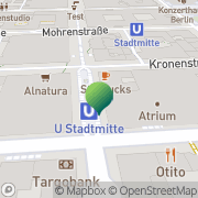 Karte German Scholars Organization Berlin, Deutschland