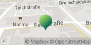 Karte GLS PaketShop Lichtenau, Deutschland