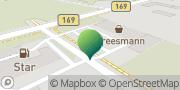 Karte GLS PaketShop Gröditz, Deutschland