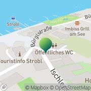 Karte Gemeindeamt Strobl Strobl, Österreich