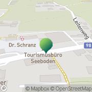 Karte Marktgemeinde Seeboden Seeboden, Österreich