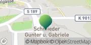Karte GLS PaketShop Schneeberg, Deutschland