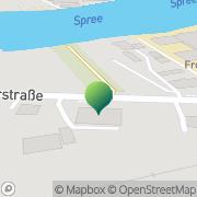 Karte Soziokulturelles Zentrum Berlin, Deutschland