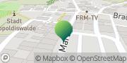 Karte GLS PaketShop Dippoldiswalde, Deutschland