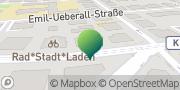 Karte GLS PaketShop Dresden, Deutschland