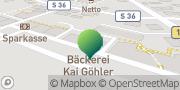 Karte GLS PaketShop Bannewitz, Deutschland