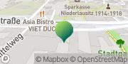 Karte GLS PaketShop Lauchhammer, Deutschland