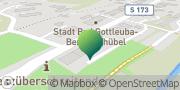 Karte GLS PaketShop Bad Gottleuba-Berggießhübel, Deutschland