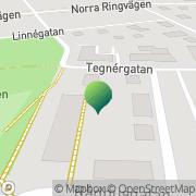Karta Pingstkyrkan Tidaholm Tidaholm, Sverige