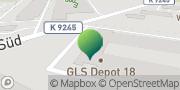 Karte GLS PaketShop Bretnig, Deutschland