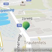 Karte Gemeindeamt Pürgg-Trautenfels Pürgg, Österreich