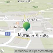 Karte Gemeindeamt St. Georgen am Kreischberg Sankt Lorenzen ob Murau, Österreich