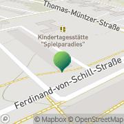 Karte Reinhard Scheffer Gütertaxi und Transporte Hoyerswerda, Deutschland