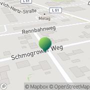 Karte Bernd Frenzel Cottbus, Deutschland