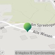 Karte Bartig Petra Post- und Minimarkt Cottbus, Deutschland