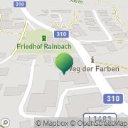 Karte Gemeindeamt Rainbach im Mühlkreis Rainbach im Mühlkreis, Österreich