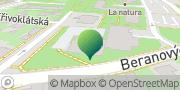 Map Městská část Praha 18 Letňany Prague, Czech Republic