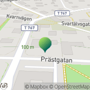Karta Bergslagskyrkan Nora, Sverige