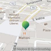 Map Magistrát města Liberec Liberec, Czech Republic
