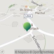 Karte Gemeindeamt Modriach Edelschrott, Österreich