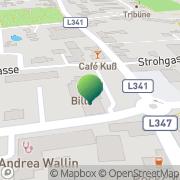 Karte Stadtgemeinde Bärnbach Bärnbach, Österreich
