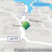 Karte Gemeindeamt Reingers Reingers, Österreich
