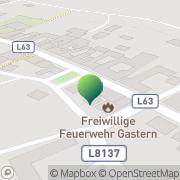 Karte Gemeindeamt d Marktgemeinde Gastern Gastern, Österreich