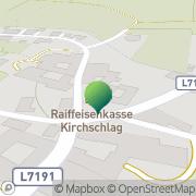 Karte Gemeindeamt Kirchschlag Kirchschlag, Österreich