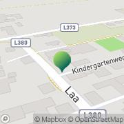 Karte Gemeindeamt Zettling Laa, Österreich