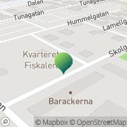 Karta Ängsklockans Barnträdgård Ekonomisk Fören Borlänge, Sverige