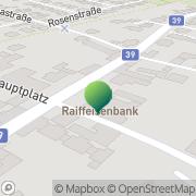 Karte Gemeindeamt Hofstetten-Grünau Hofstetten, Österreich