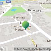 Karte Stadtgemeinde Mautern an der Donau Mautern, Österreich