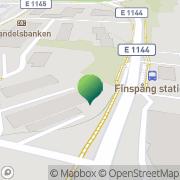 Karta Finspångs Arbetarekommun Finspång, Sverige